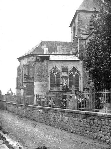 Côté nord de l'abside