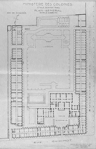 Ancien hôtel, actuellement ministère des DOM-TOM