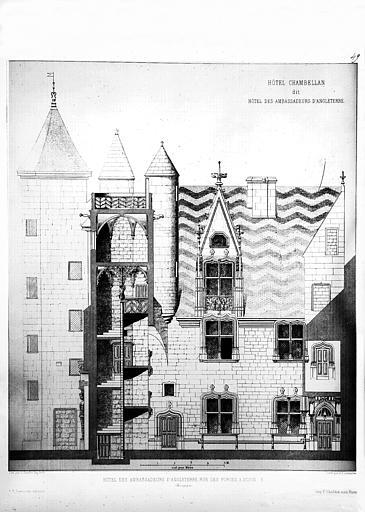 Hôtel des ambassadeurs d'Angleterre