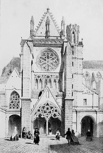 Abbaye Saint-Germain (ancienne)