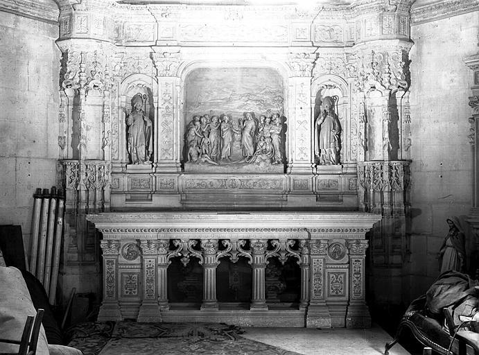 Chapelle des Morts : autel