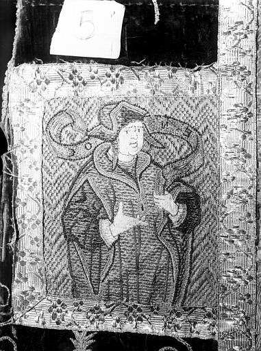 Chasuble et voile de calice d'Hercule de Jarente, archevêque d'Embrun