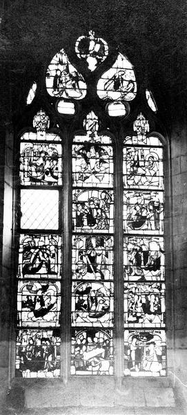 verrières : Légende de sainte Madeleine, Scènes de la vie du Christ