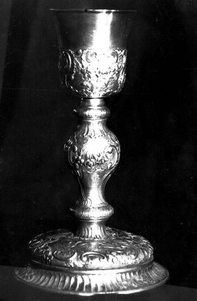 Calice en argent, époque Louis XV