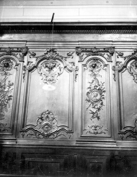 Chapelle de l'ancien séminaire, lambris
