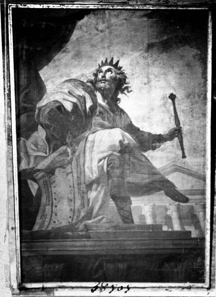 Peinture sur toile : le roi Salomon