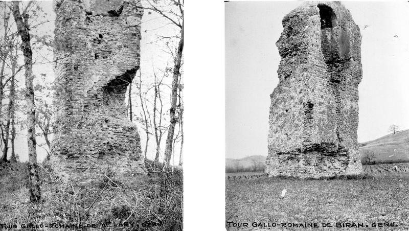 Deux tours gallo-romaines