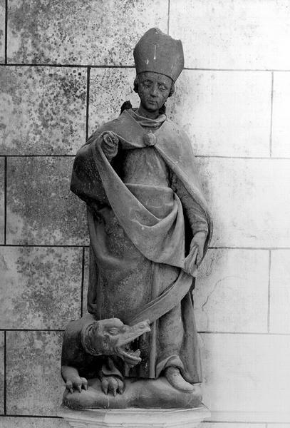 Statue d'applique : Saint Romain