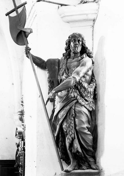Statue d'applique : Saint Jean-Baptiste