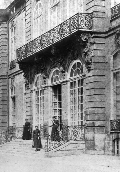 Ancien hôtel de Biron ou ancien hôtel du Maine, actuellement musée Rodin
