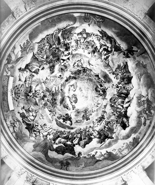 Peinture monumentale de la coupole