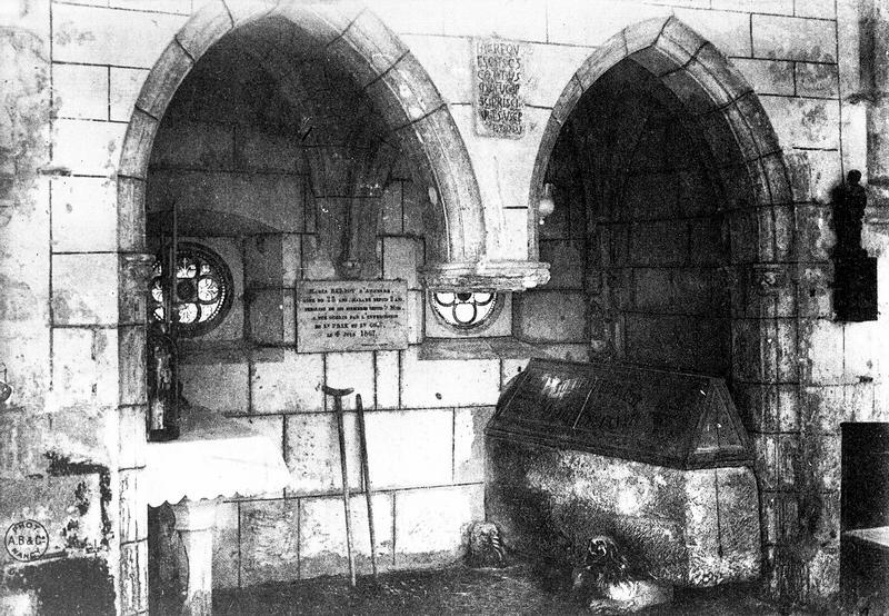 tombeau de saint Cot
