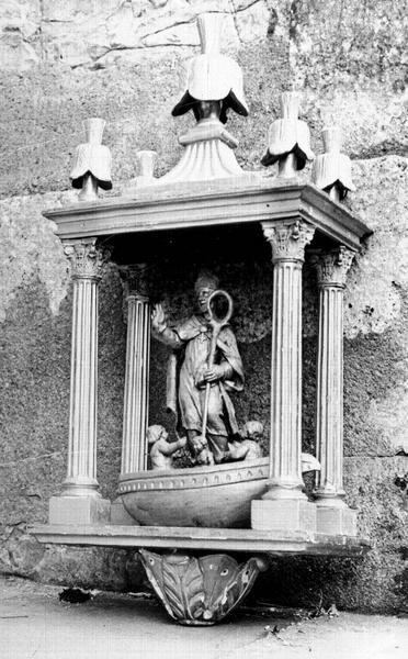 Bâton de procession de confrérie de saint Nicolas