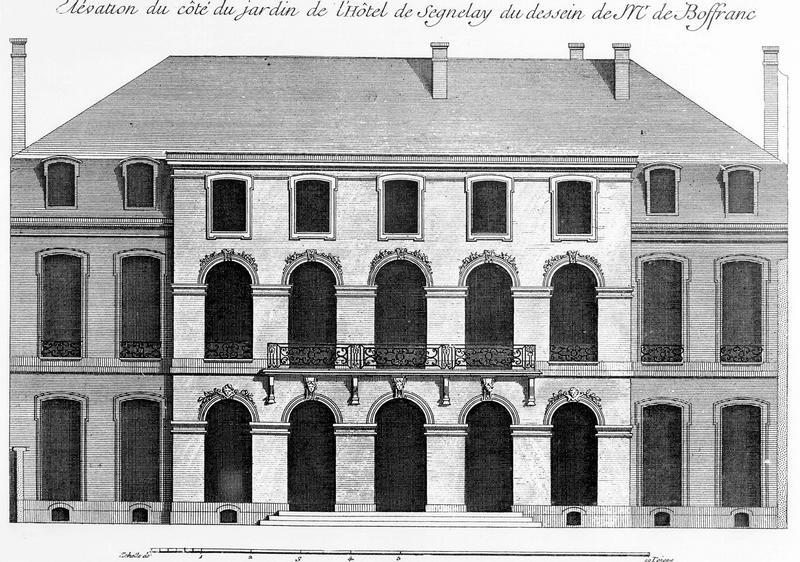 Hôtel de Seignelay, actuellement ministère de l'industrie et du commerce