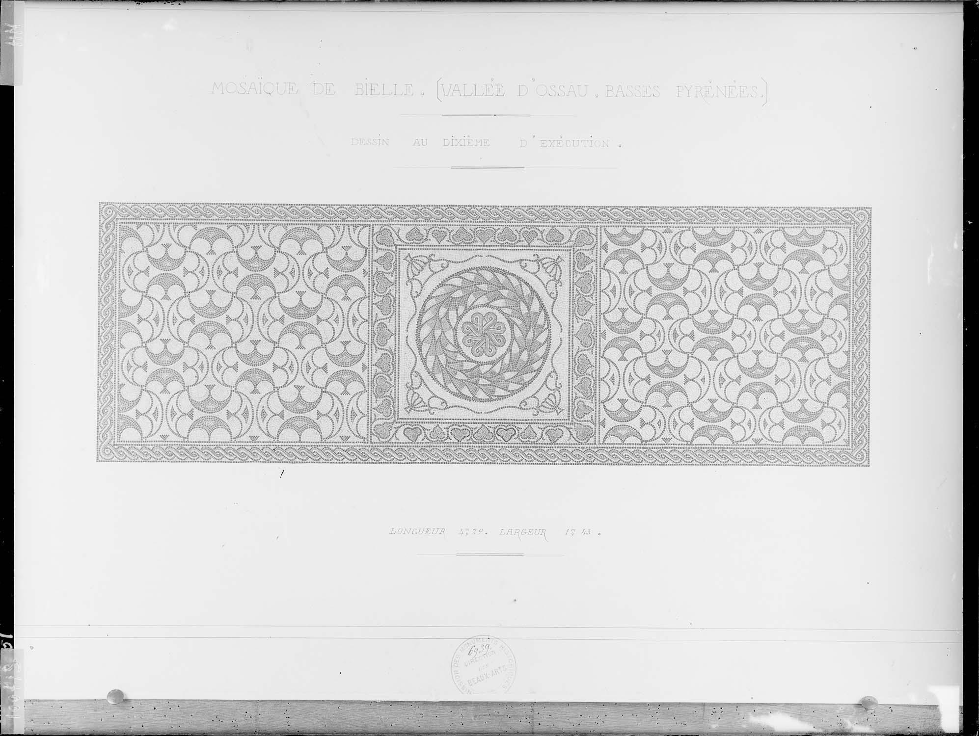 Mosaïque du chœur (dessin)