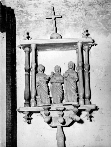 bâton de procession de confrérie : Les Trois Maries