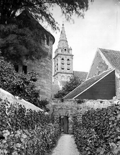 Restes de la tour