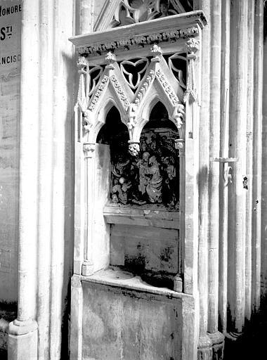 Bas-relief : Le Baiser de Judas