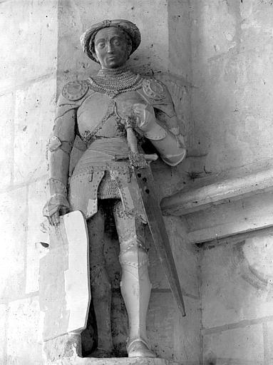 Statue de la chapelle : Dunois