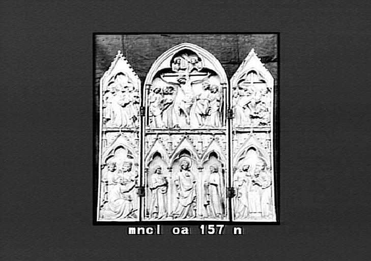 Triptyque dit de Saint-Sulpice du Tarn : scènes de l'Enfance et de la Passion du Christ
