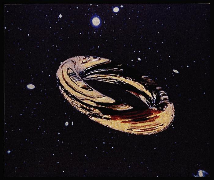 Peinture : Spinning Ring-Série Duncan Donut