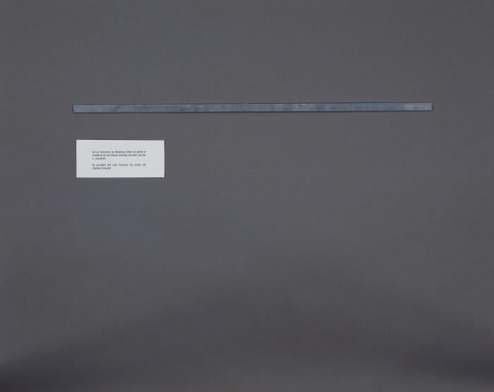 Réglettes : Sans titre, 4 vitrines