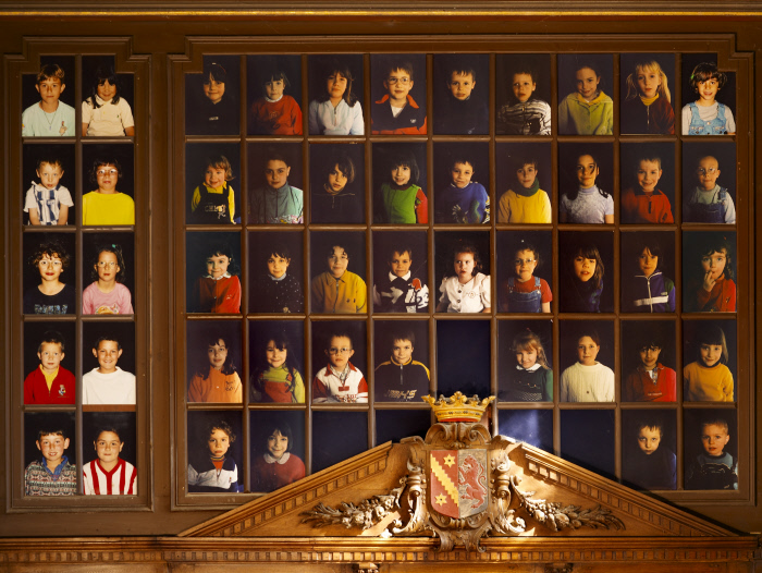 Photographies : Les écoliers d'Oiron