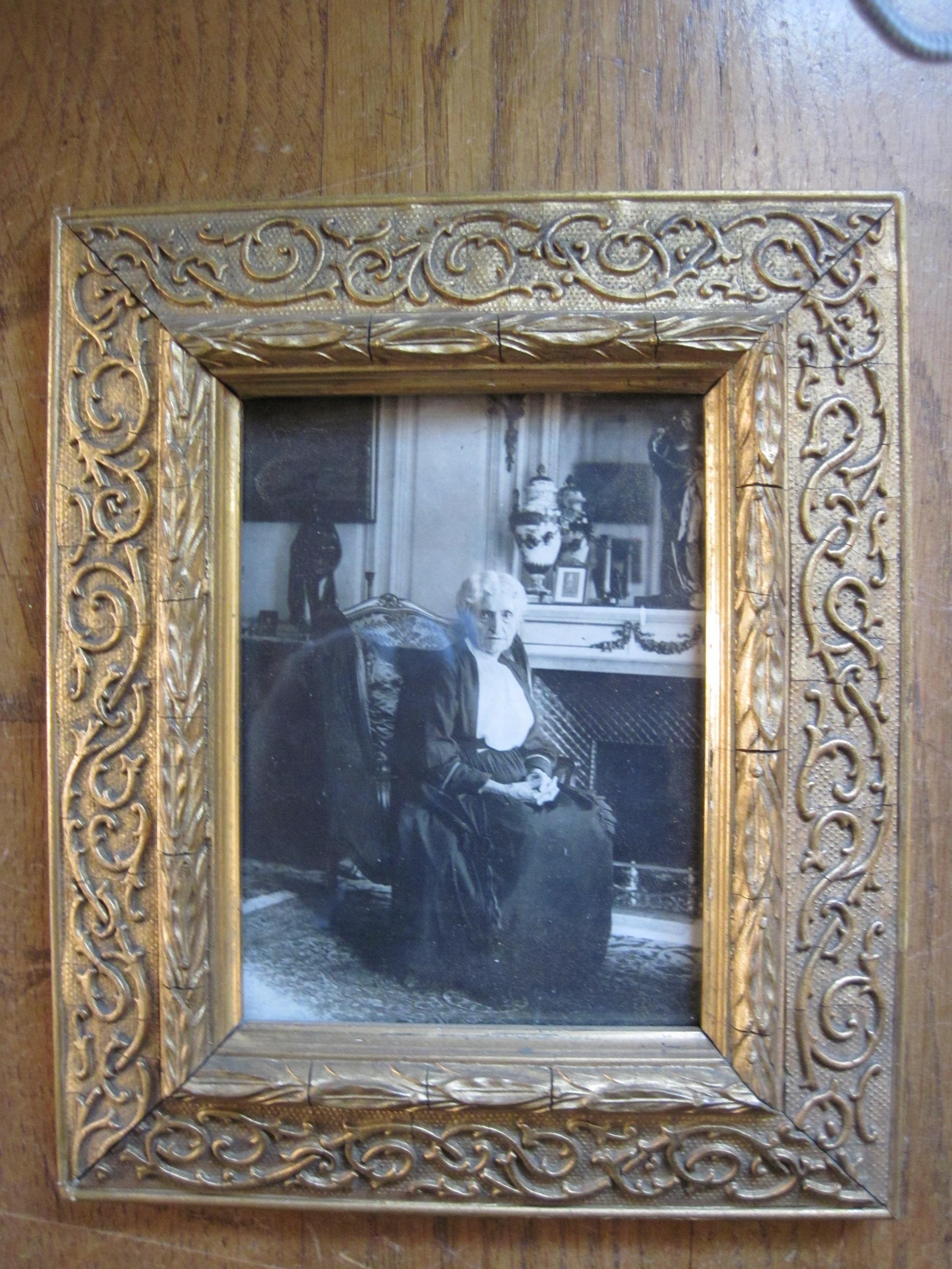 Photographie : Madame Leris, soeur de Gambetta
