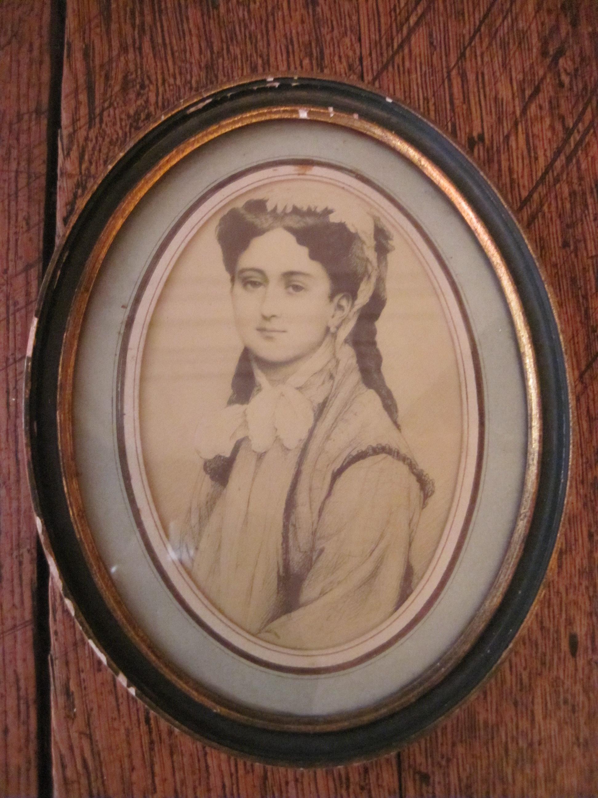 Portrait de Léonie Léon