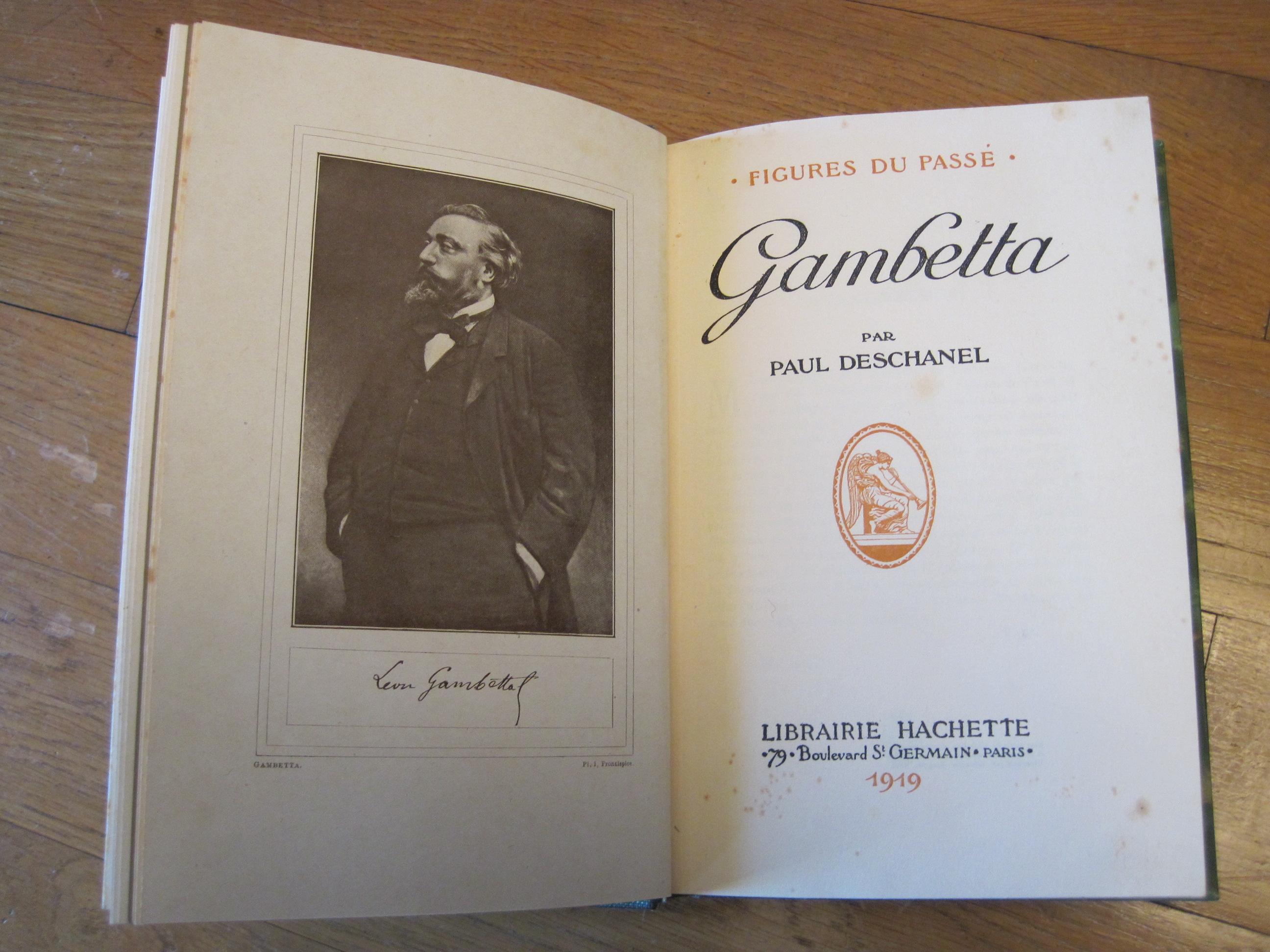 Livre : Gambetta