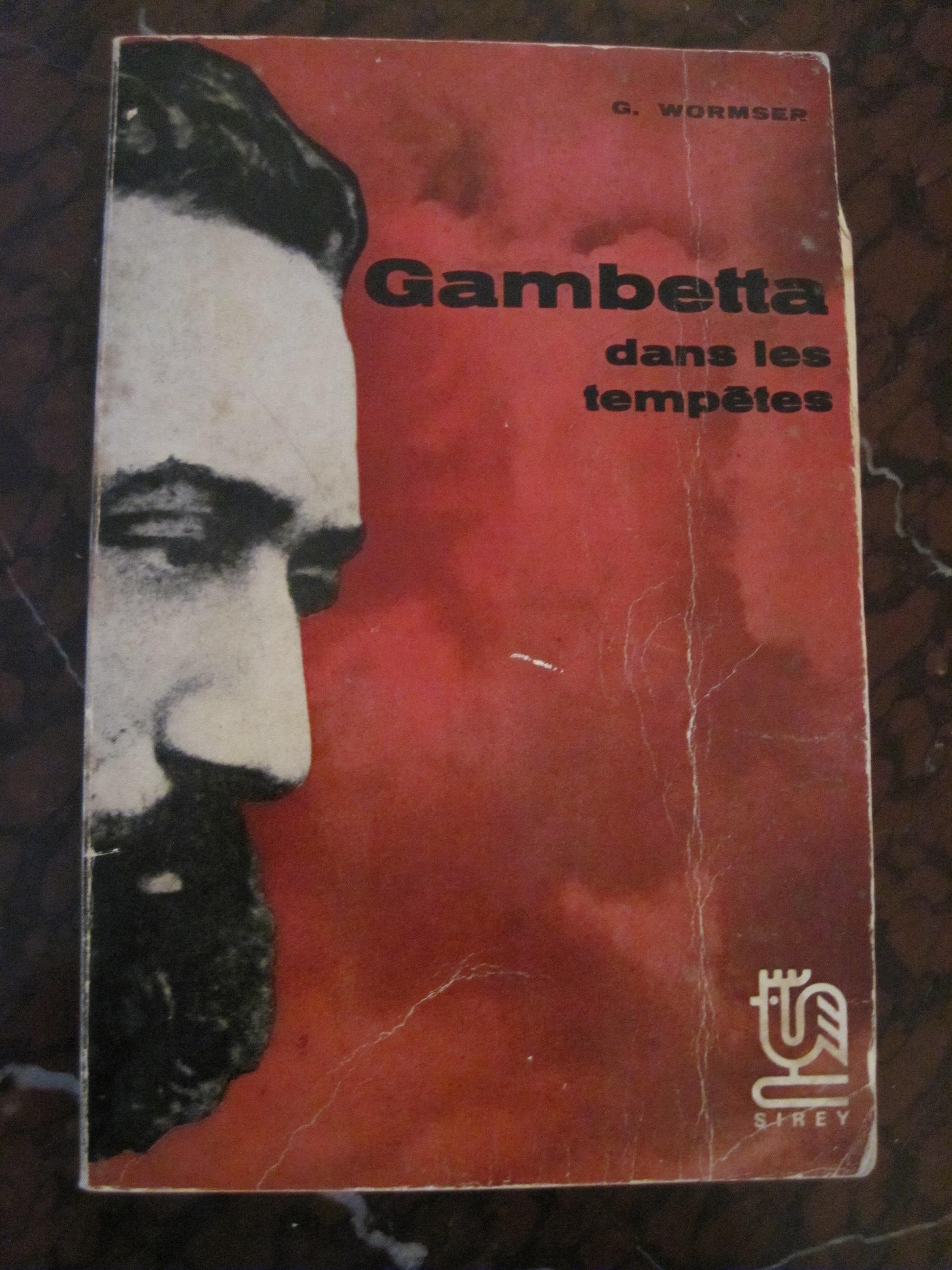 Livre : Gambetta dans les tempêtes