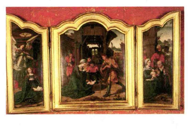 Triptyque : Adoration des Mages