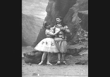 Rosita Mauri et M. Merante