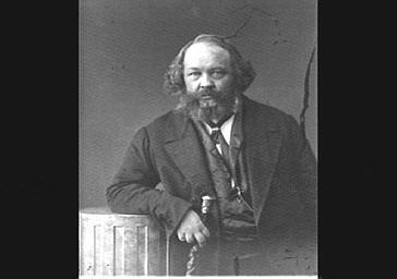Mikhail Bakounine, écrivain russe