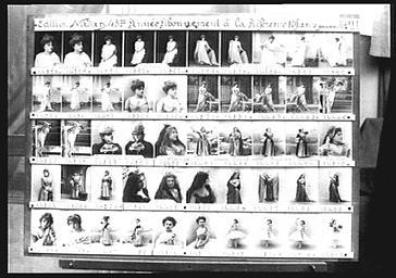 Planche de références de l'atelier