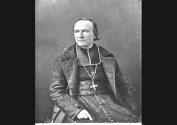 Monseigneur Darboy, archevêque de Paris. Fusillé en mai 1871