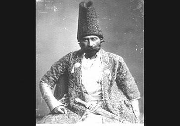 Khan Feruck, ambassadeur de Perse