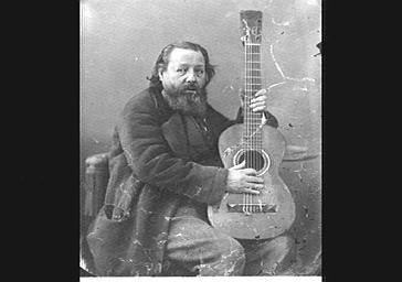 M. Huerta, guitariste espagnol