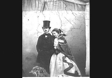 Monsieur et madame Eugène Péreire