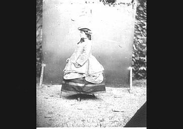 Mme de Persigny, épouse du ministre de l'Empire