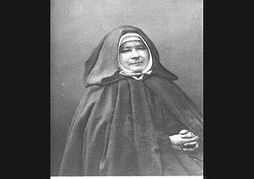 Mère Marie Jamet, supérieure des Petites soeurs des pauvres