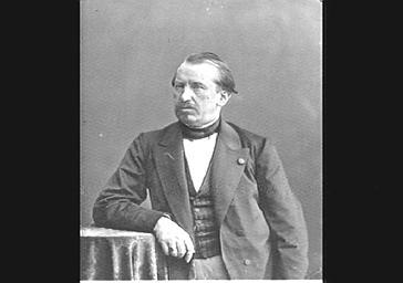 M. Arthur Dubreuil-Hélion, Vicomte de La Guéronnière, journaliste bonapartiste.