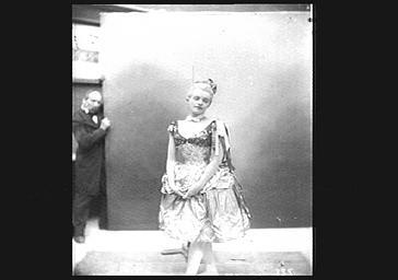 Réjane (Charlotte Gabrielle Réju dite), dans 'Pierrot assassin'