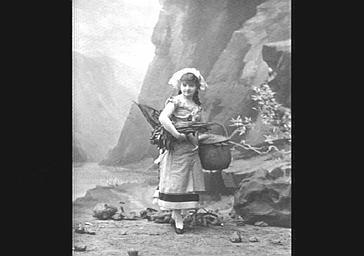 Ellen Andrée, actrice et modèle de nombreux peintres