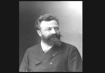 Edouard Colonne, chef d'orchestre, fondateur avec Georges Hartmann de l'Orchestre Colonne en 1873