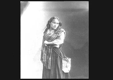 Mlle Weber, dans 'Les Jacobites'