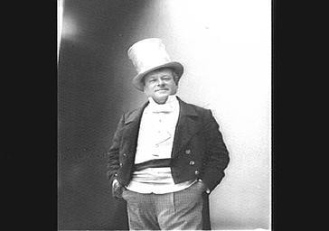 M. Berthelier, dans 'Les Nouveautés de Paris'
