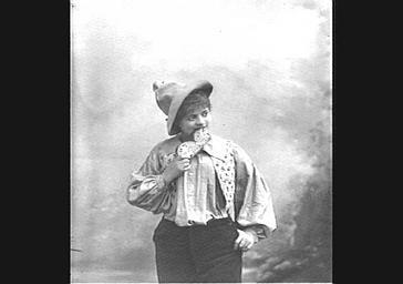 Marie Albert, dans 'Le Petit Poucet'