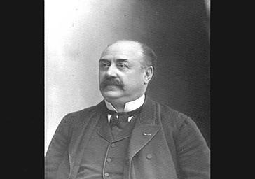 Raymond Deslandes, directeur du théâtre du Vaudeville