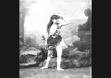Mlle Mainardi, dans 'Messalina'